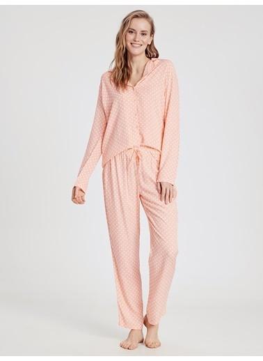 LC Waikiki Pijama Takım Mercan